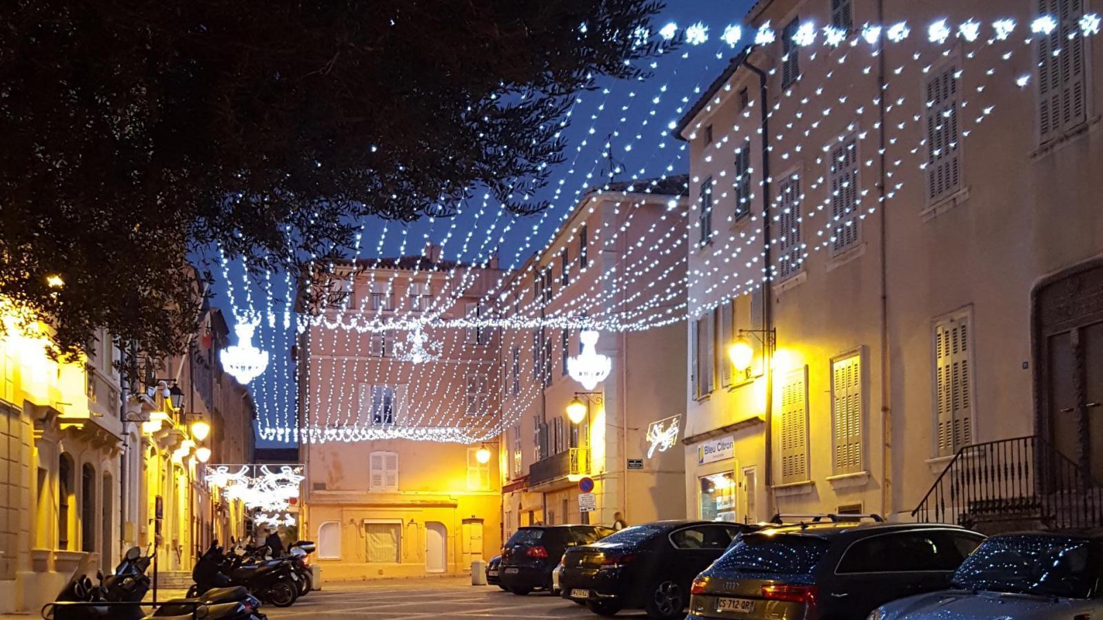 Christmas in Saint Tropez