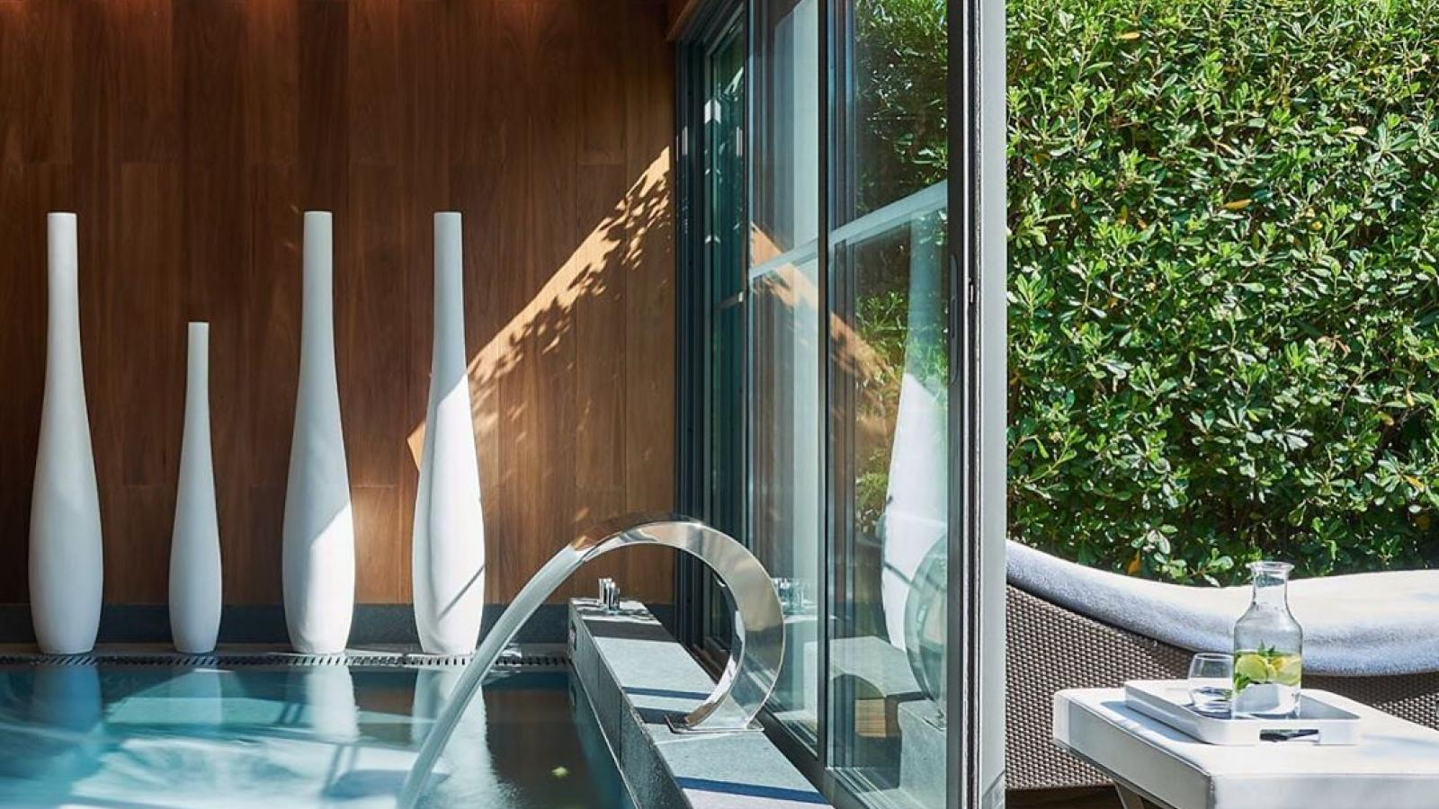 Les Canebiers and Bluemint at the spa boutique of the Hotel Sezz in Saint-Tropez