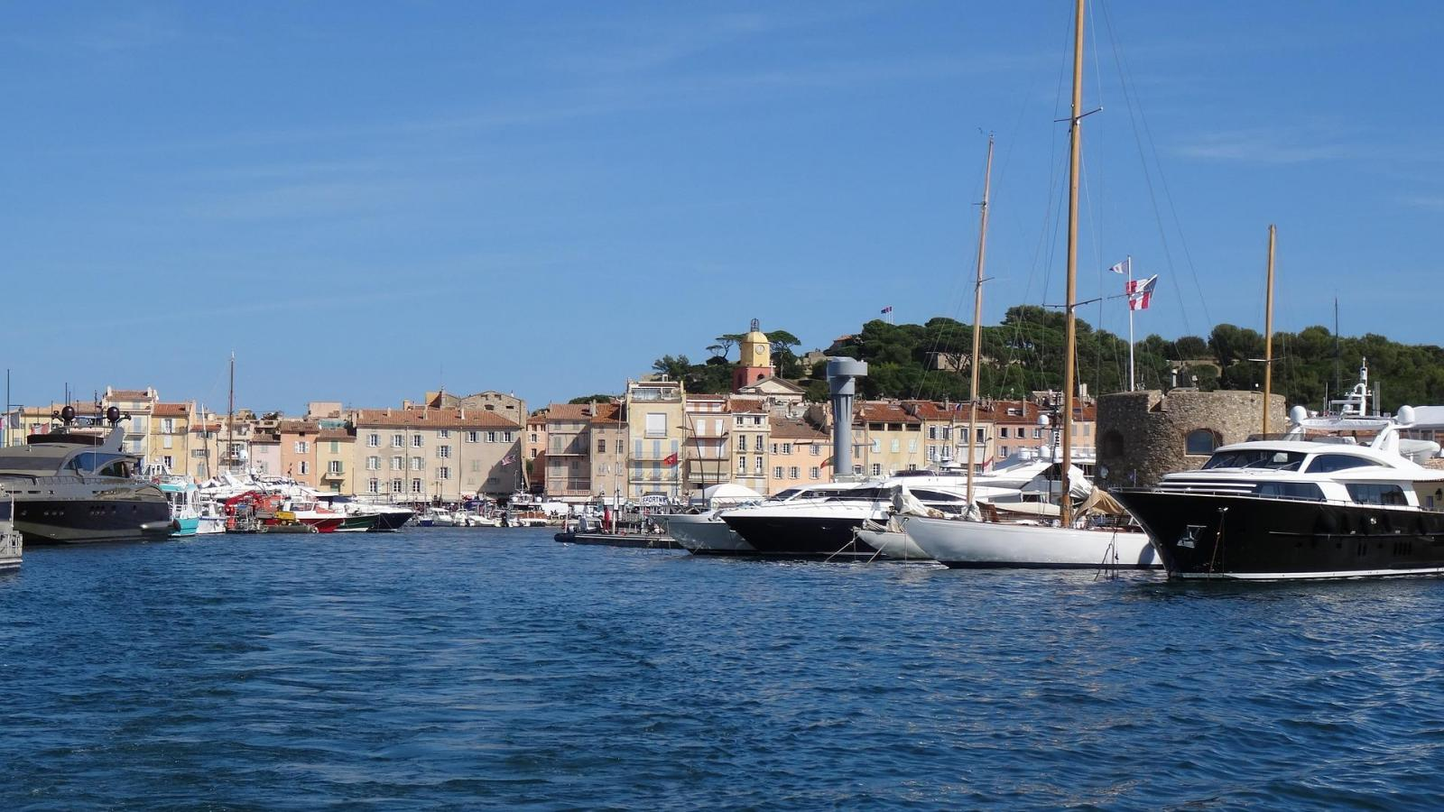 All about the sea in Saint-Tropez