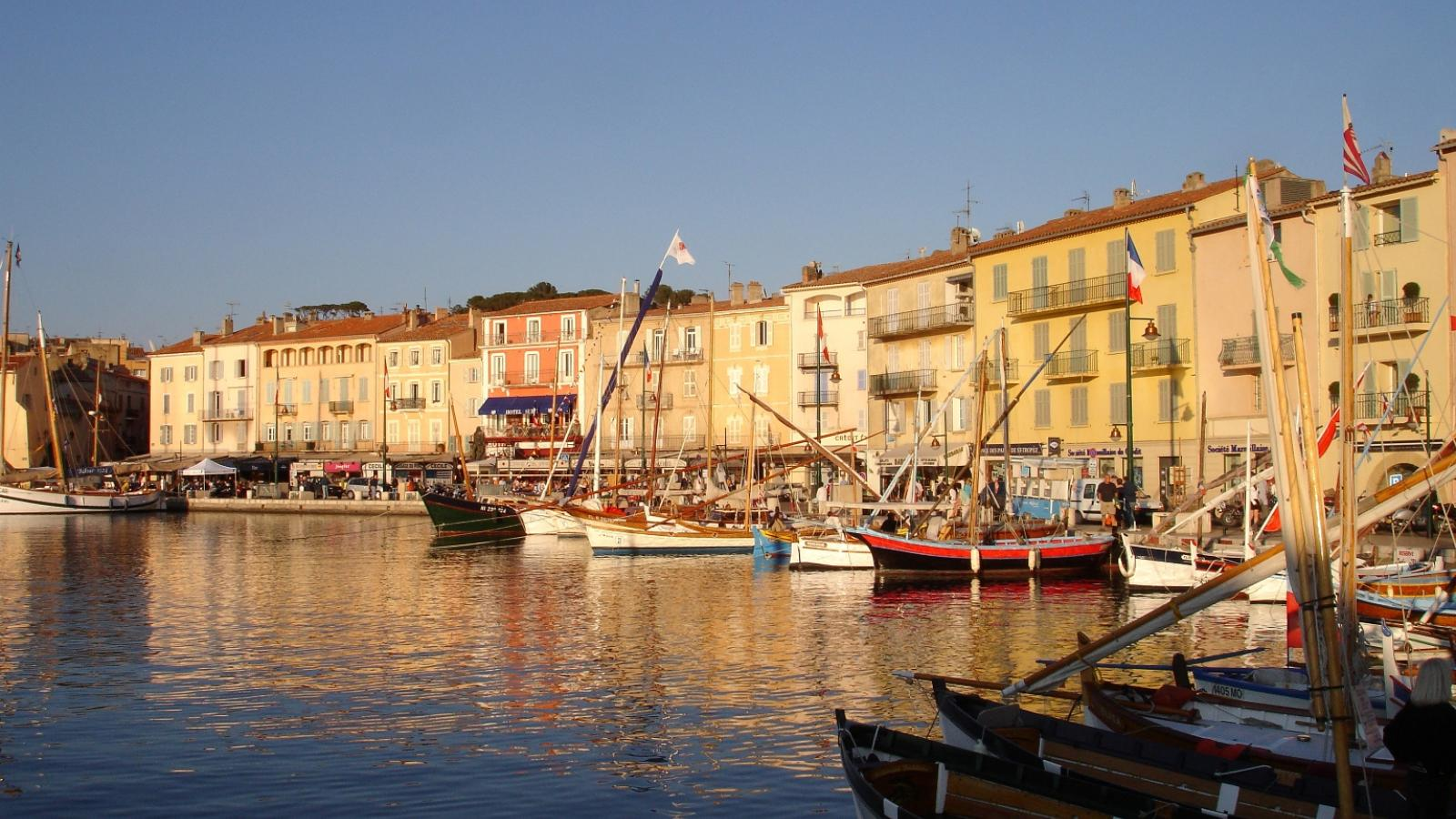 The old port of Saint-Tropez has a story to tell!
