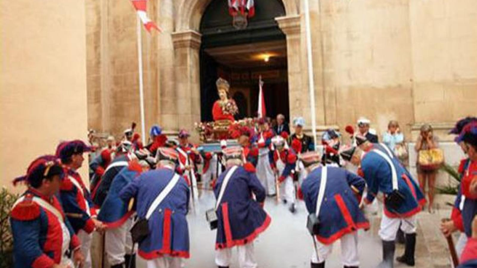 Feast in St Tropez 2014 is a unique traditional celebration