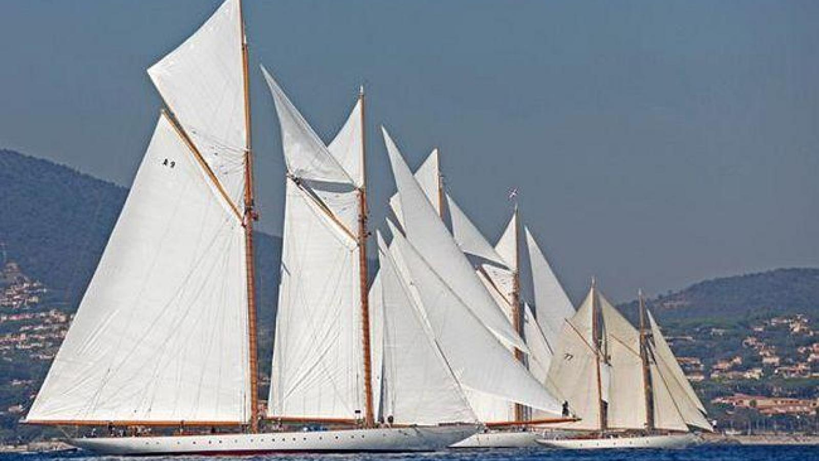 Saint Tropez sailing - a remarkable yachting event
