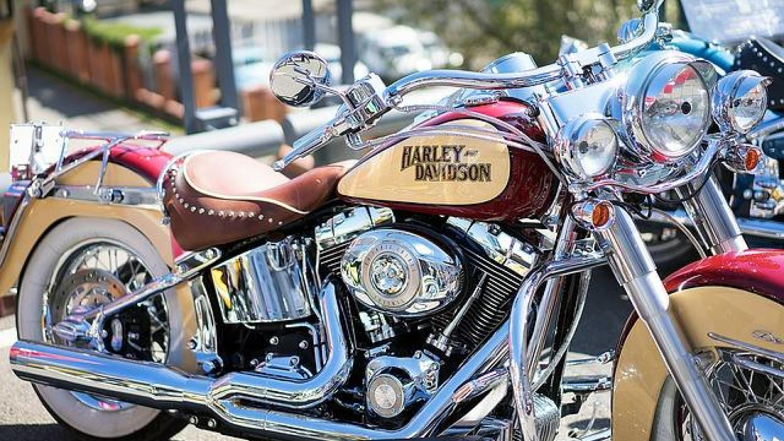 Harley Davidson Euro Festival 2015 in Saint Tropez