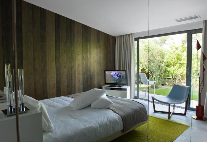 Villa bedroom 3  ©Anthony Lanneretonne